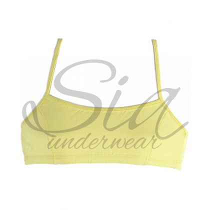 Bustier Sporty yellow
