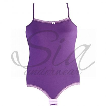 Bodysuit First dark purple