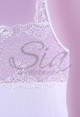 Corsage White lace